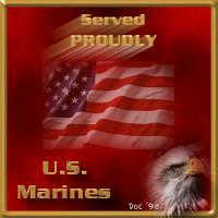 Proudly Served, US Marines!